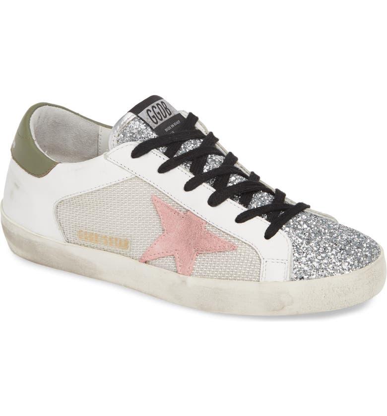 GOLDEN GOOSE Superstar Sneaker, Main, color, GREY/ PINK