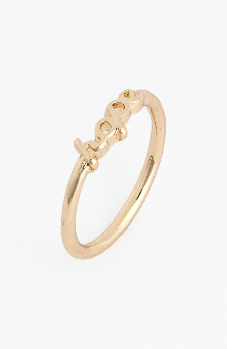 BP. 'Hope' Midi Ring, Main, color, 710
