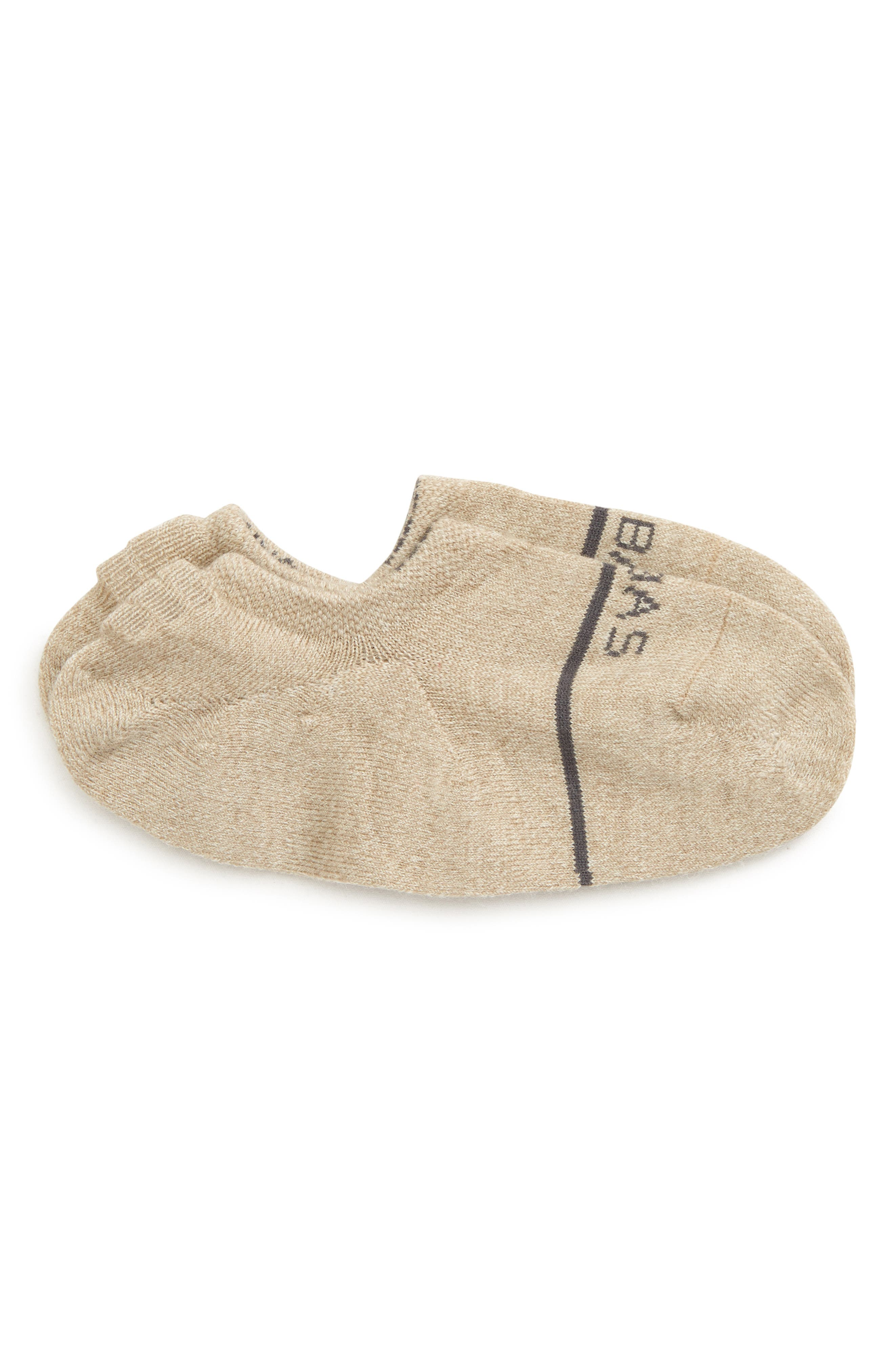 No-Show Wool Blend Socks