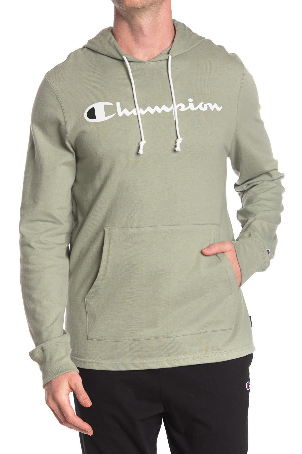 Image of Champion Heavy Weight Jersey Hoodie