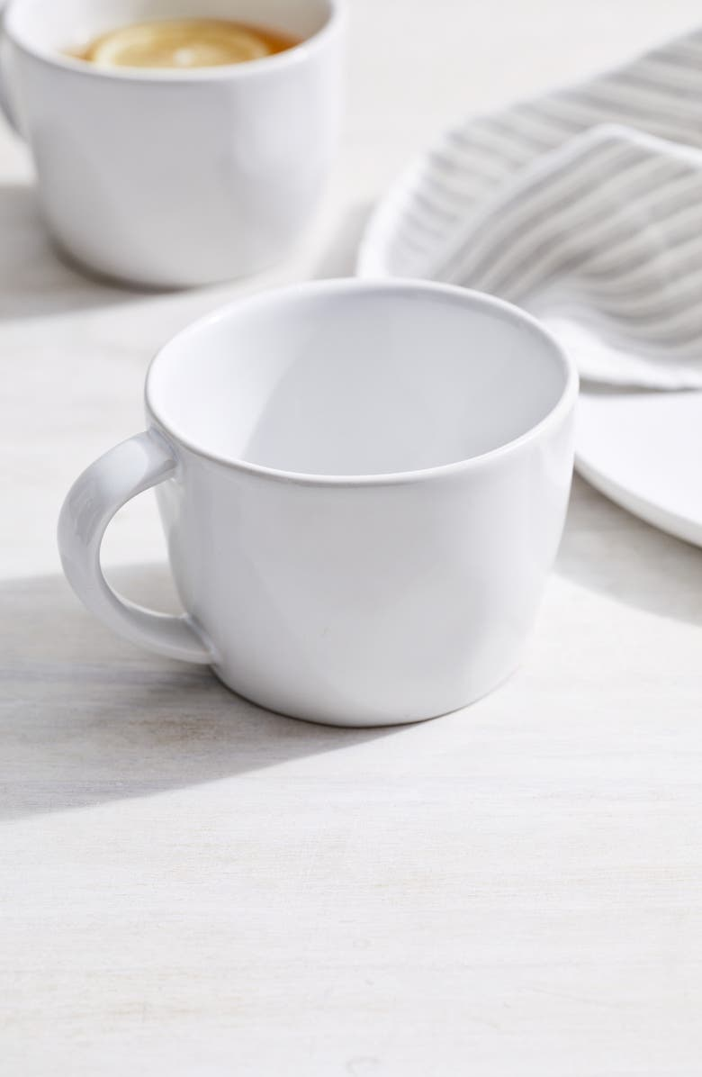 THE WHITE COMPANY Portobello Mug, Main, color, WHITE