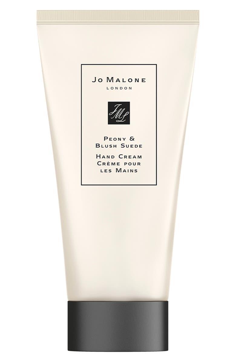 JO MALONE LONDON<SUP>™</SUP> Peony & Blush Suede Hand Cream, Main, color, NO COLOR