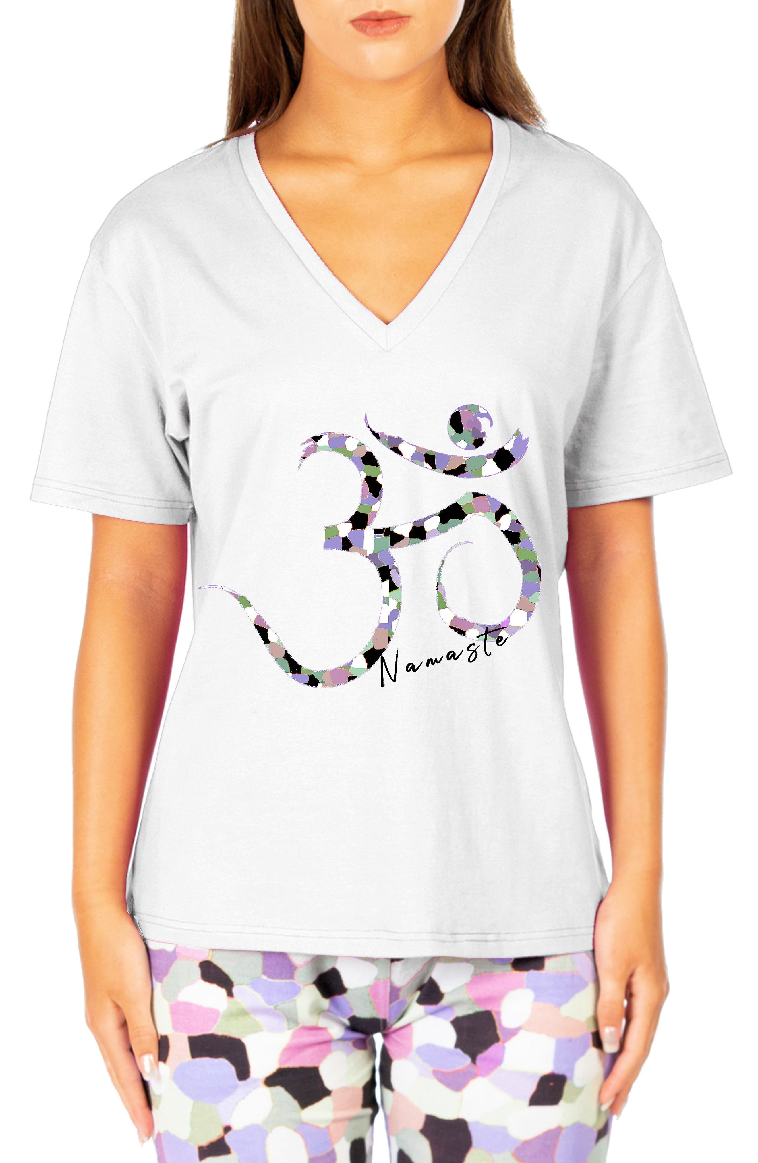 Oversize V-Neck T-Shirt