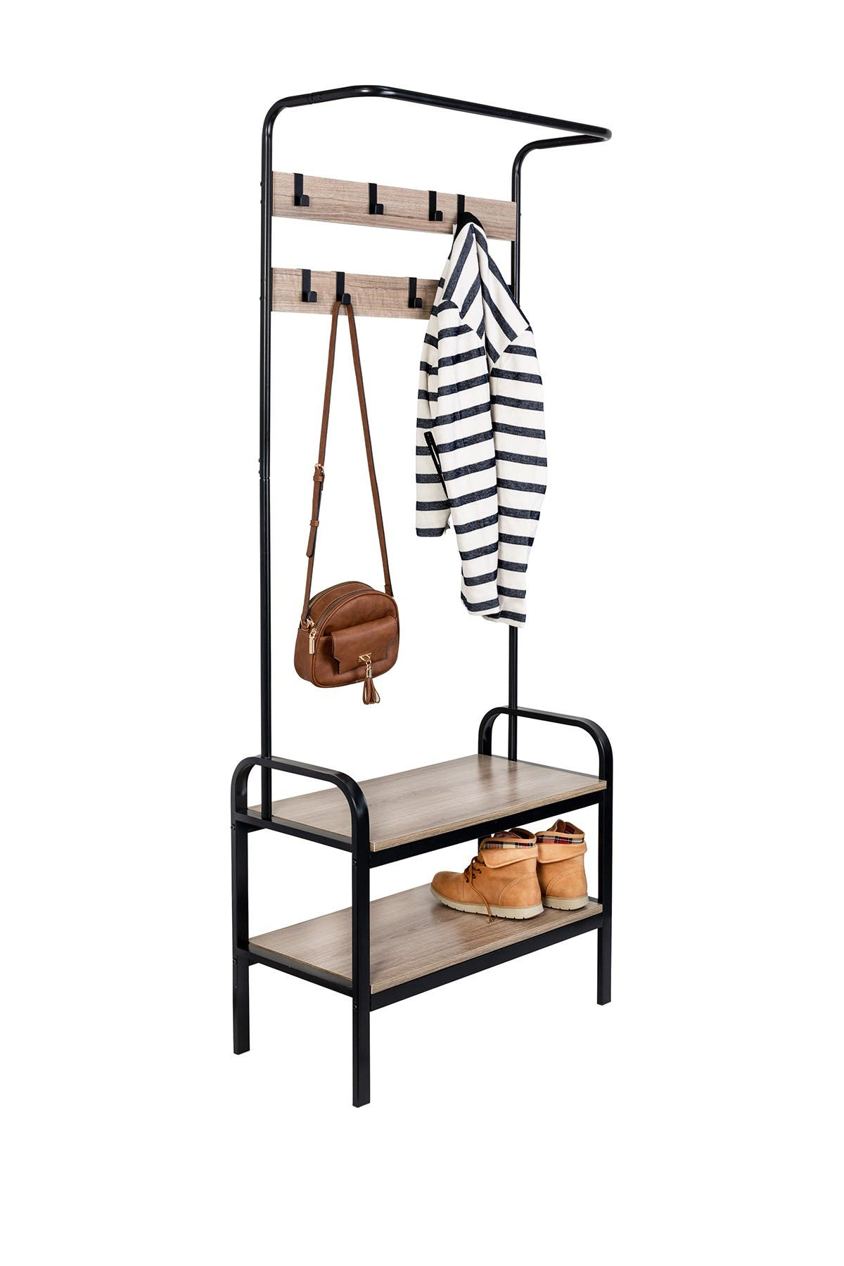 Image of Honey-Can-Do Entry Rack & Bench
