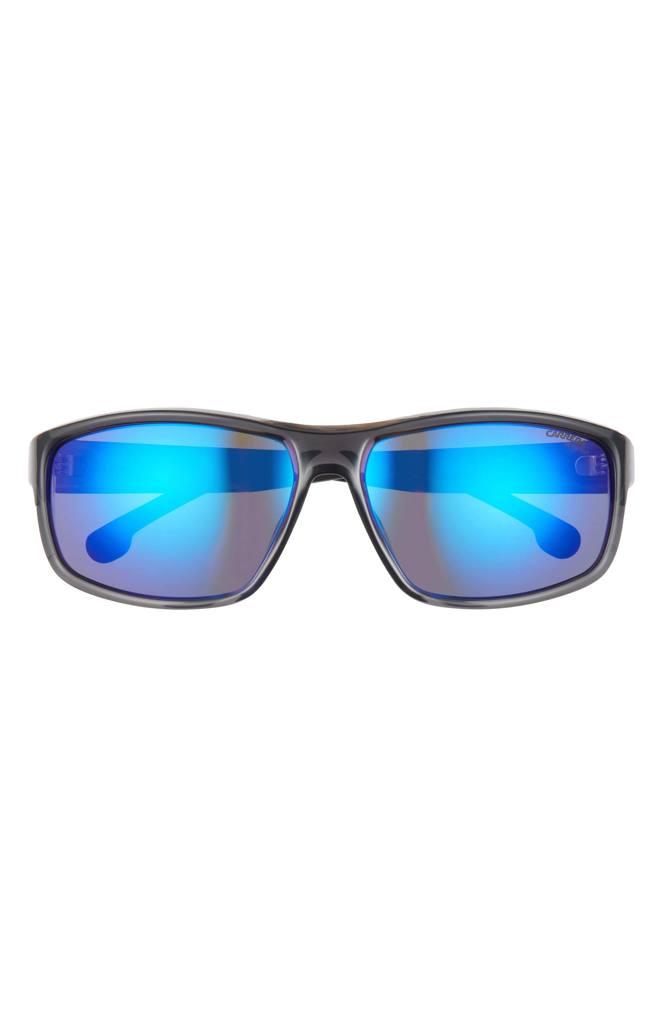 61mm Rectangular Sunglasses
