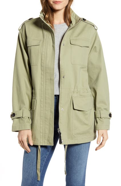 Image of DEREK LAM 10 CROSBY Cotton Field Jacket