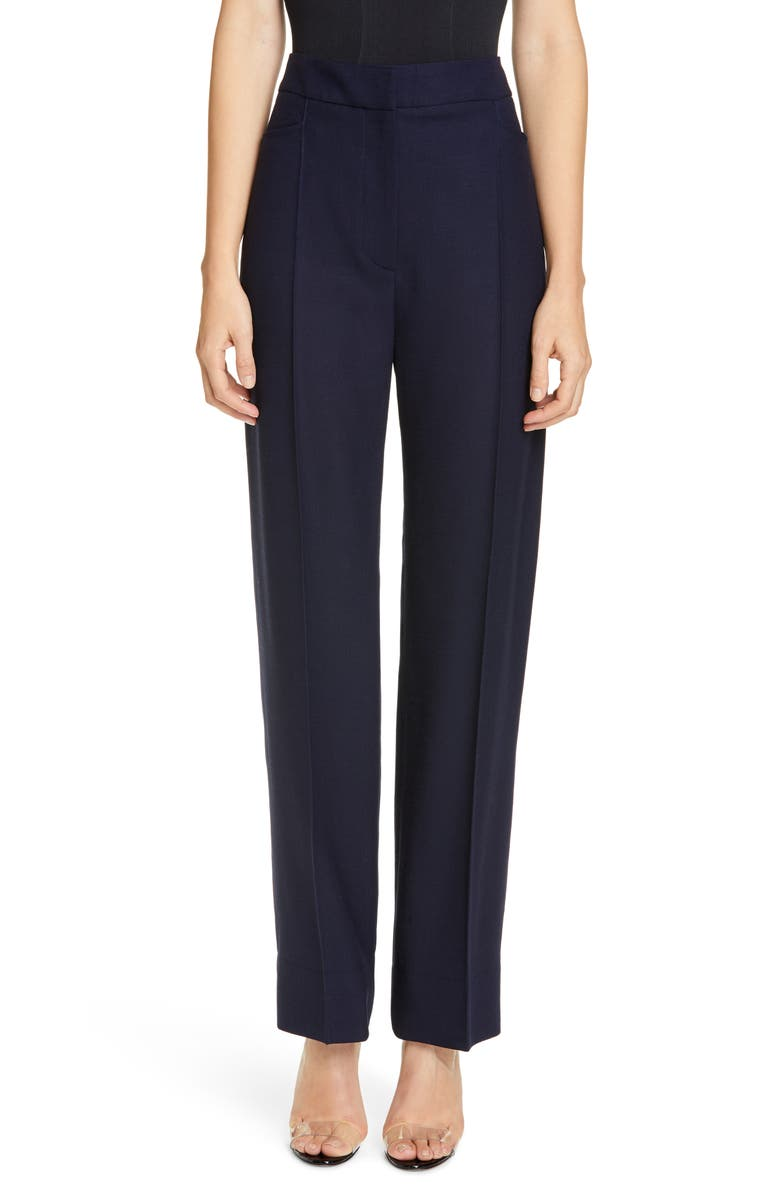 JACQUEMUS Le Pantalon De Costume Wool Trousers, Main, color, 410