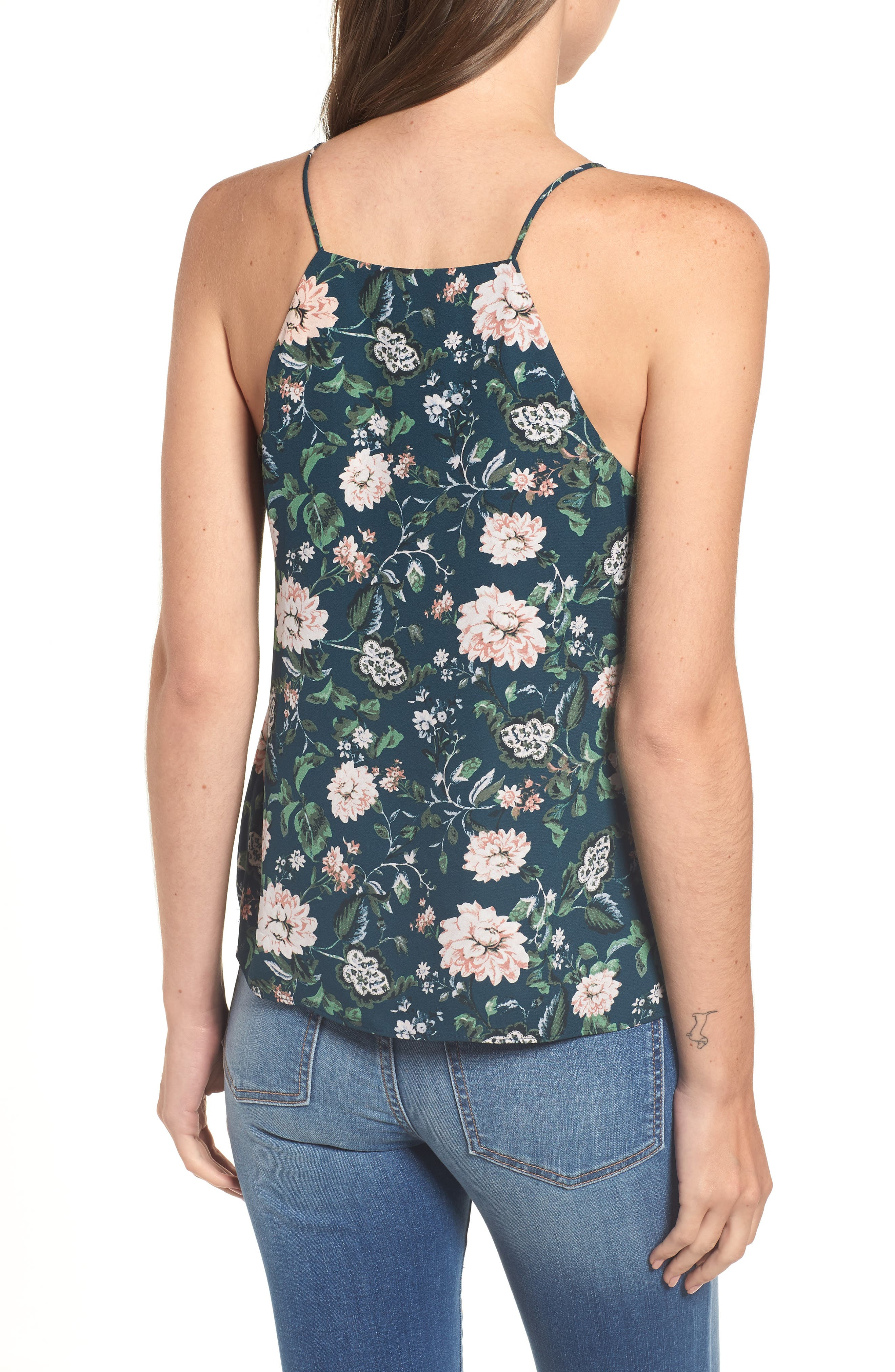 ,                             Posie Strappy Camisole,                             Alternate thumbnail 2, color,                             445