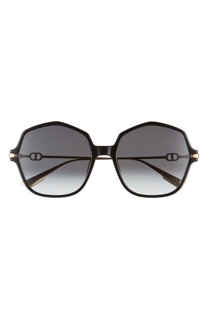 Dior LINK2 59MM GRADIENT GEOMETRIC SUNGLASSES
