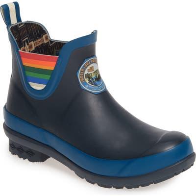 Pendleton Crater Lake National Park Waterproof Chelsea Rain Boot, Blue