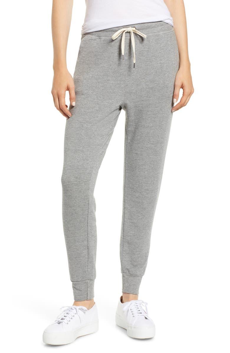 SPLENDID Active Jogger Pants, Main, color, HEATHER GREY