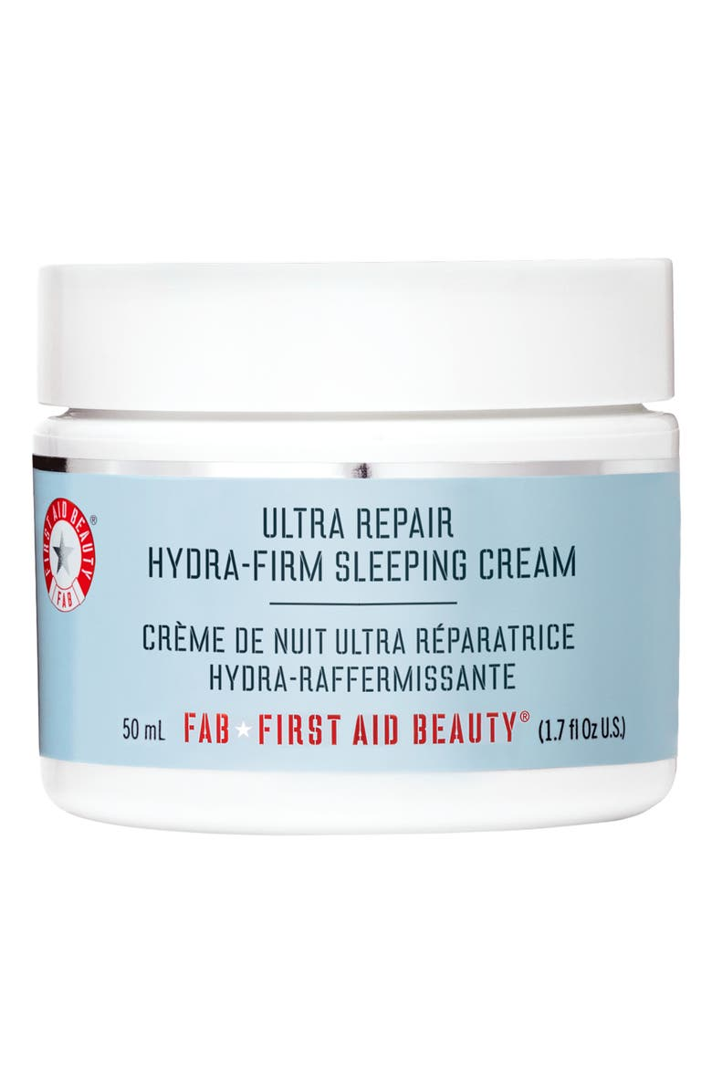 FIRST AID BEAUTY Ultra Repair Hydra-Firm Sleeping Cream, Main, color, NO COLOR