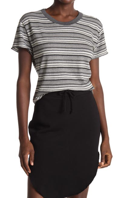 Image of FRANK & EILEEN Vintage Striped Crew Neck T-Shirt