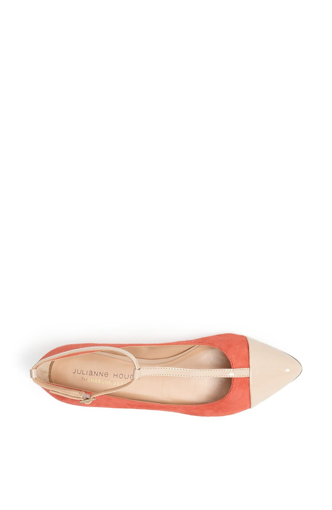 ,                             Julianne Hough for Sole Society 'Addy' Flat,                             Alternate thumbnail 48, color,                             840
