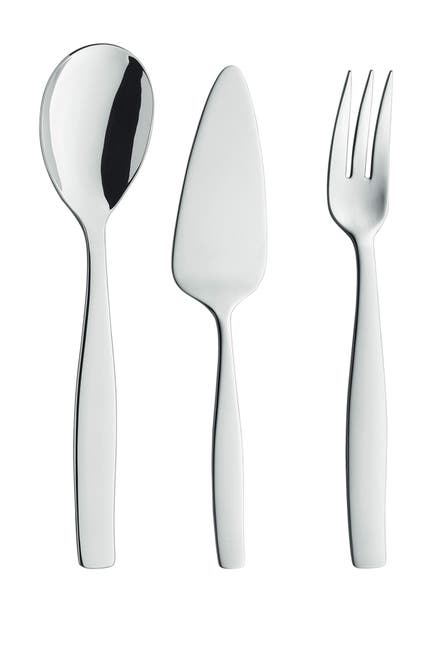 Image of JA Henckels International Vela 3-Piece 18/10 Stainless Steel Flatware Serving Set