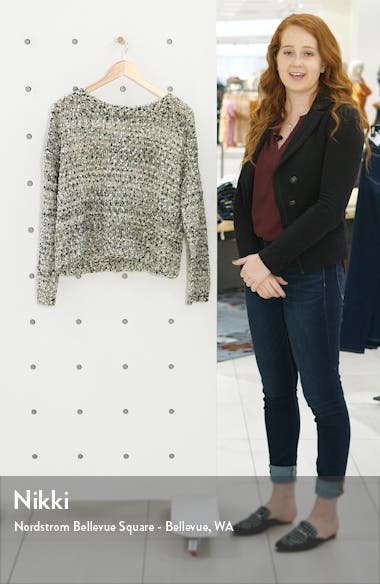 Button Back Sweater, sales video thumbnail