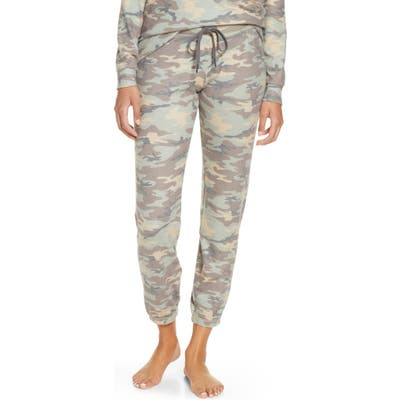 Pj Salvage Camo Sweatpants, Beige
