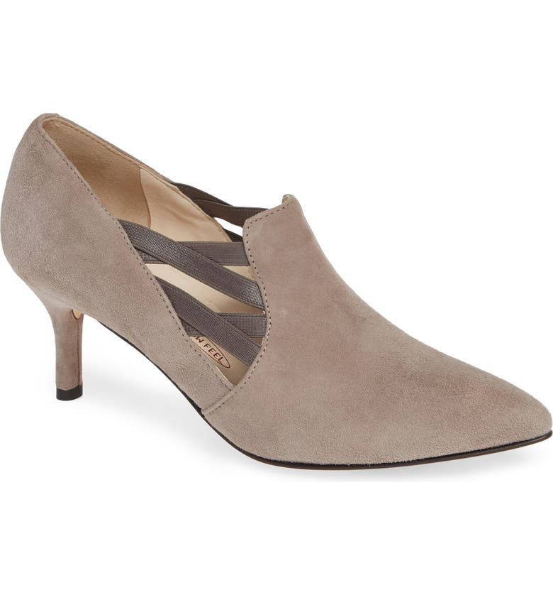 AMALFI BY RANGONI Paolo Pump, Main, color, STONE SUEDE