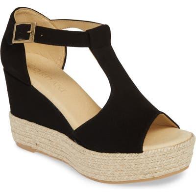 Cordani Elisa Espadrille Wedge Sandal - Black