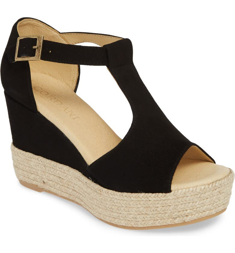 CORDANI Elisa Espadrille Wedge Sandal, Main, color, 002