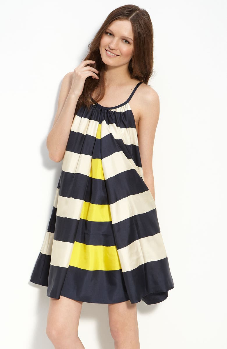MARC BY MARC JACOBS 'Bella' Stripe Silk Dress, Main, color, 413