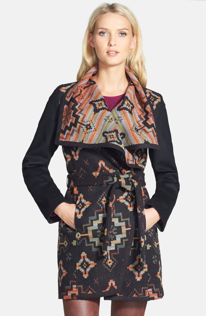 PENDLETON Jacquard Blanket Coat, Main, color, 003