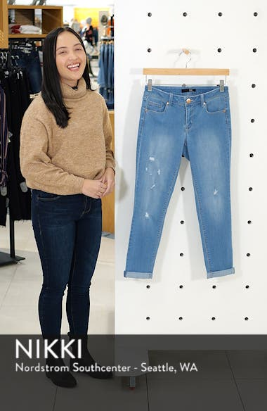 Roll Hem Crop Jeggings, sales video thumbnail
