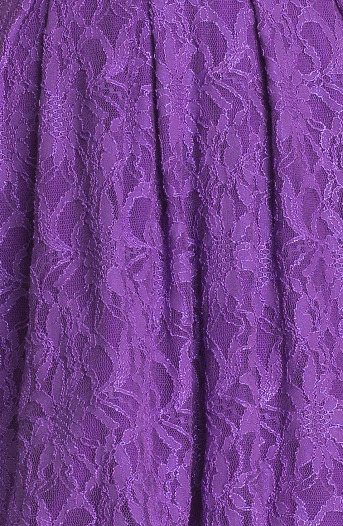 ,                             Lace Fit & Flare Dress,                             Alternate thumbnail 2, color,                             500