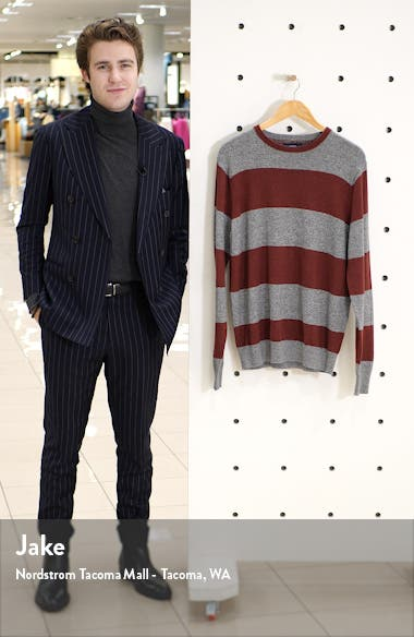 Rugby Stripe Slim Fit Sweater, sales video thumbnail