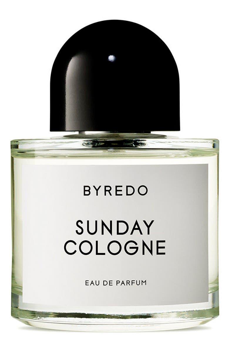 BYREDO Sunday Cologne Eau de Parfum, Main, color, NO COLOR
