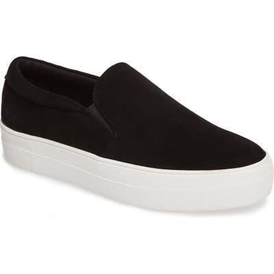 Steve Madden Gills Platform Slip-On Sneaker, Black