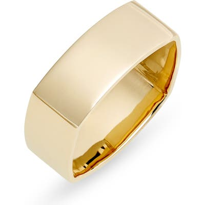 Bony Levy 14K Gold Wide Square Ring (Nordstrom Exclusive)