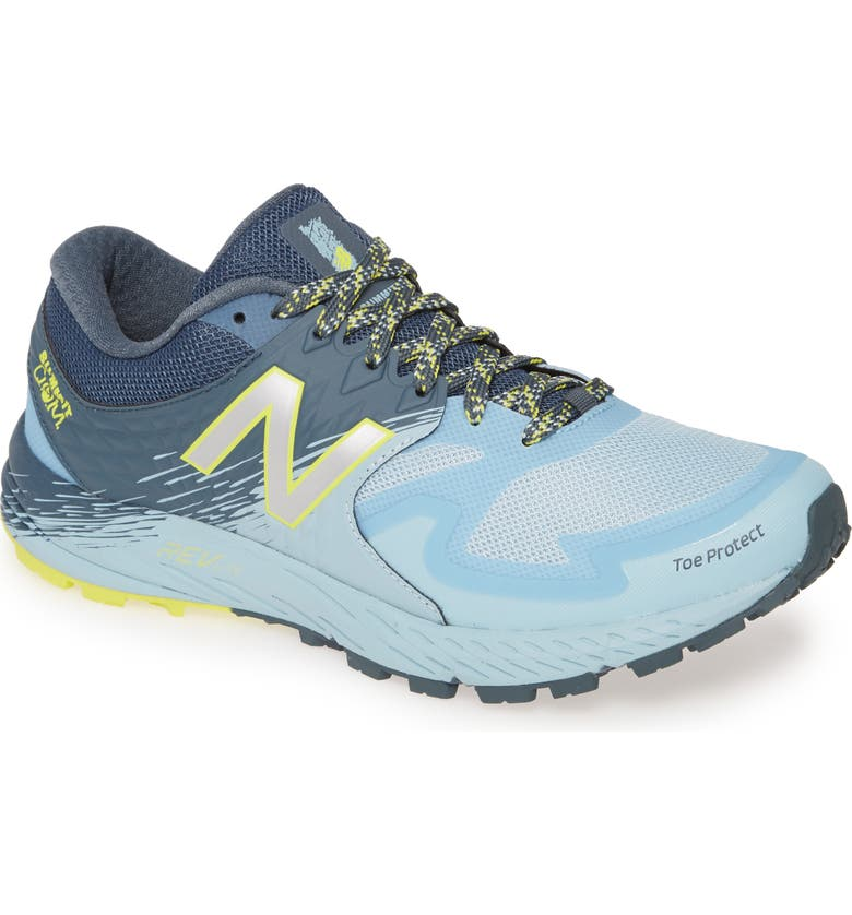 NEW BALANCE Summit Q.O.M. Trail Running Shoe, Main, color, ORION BLUE