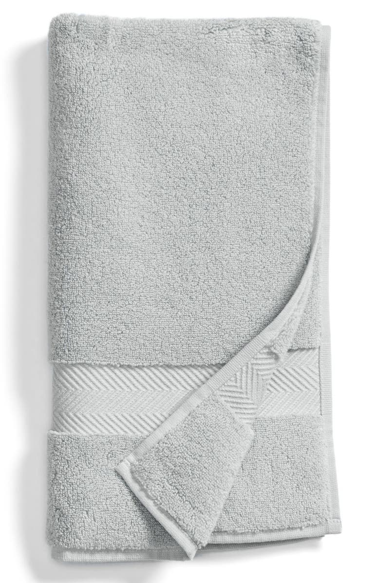 NORDSTROM AT HOME Hydrocotton Hand Towel, Main, color, GREY VAPOR