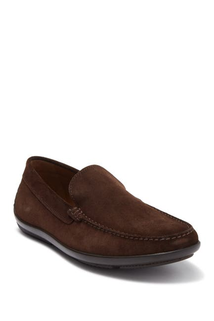 Image of MORAL CODE Woodrow Suede Driving Loafer