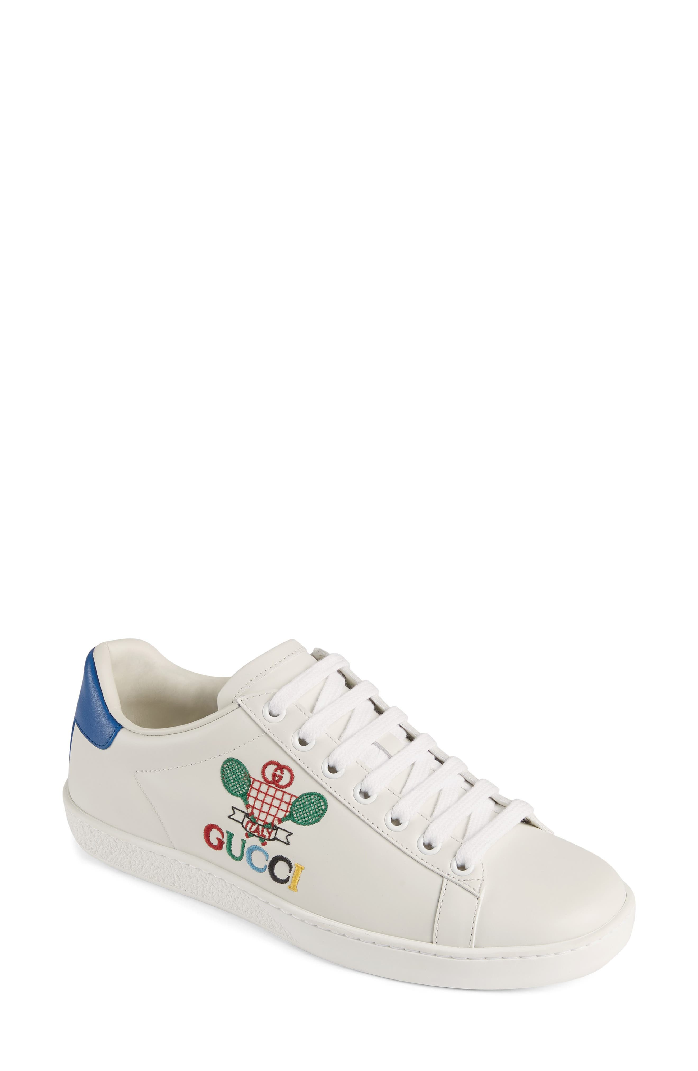 Gucci New Ace Embroidered Tennis