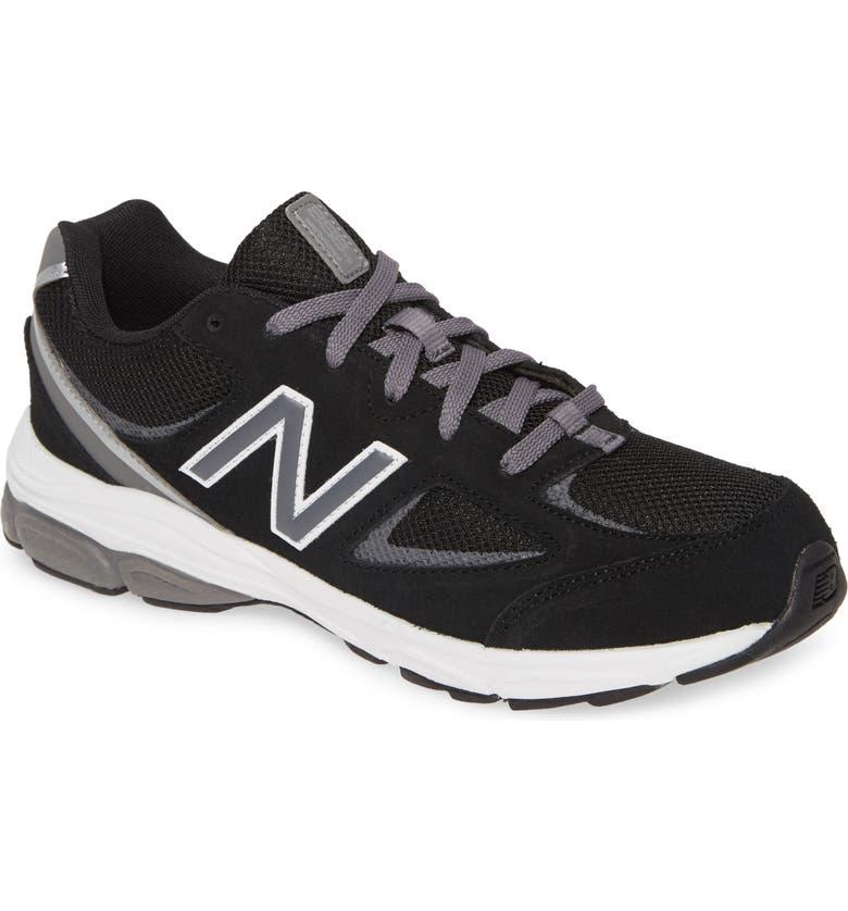 NEW BALANCE 888v2 Sneaker, Main, color, BLACK/ GREY