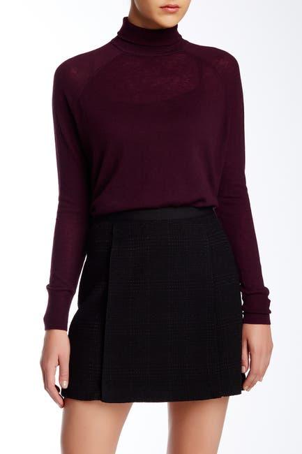 Image of Vince Wool Blend Superwash Turtleneck Sweater