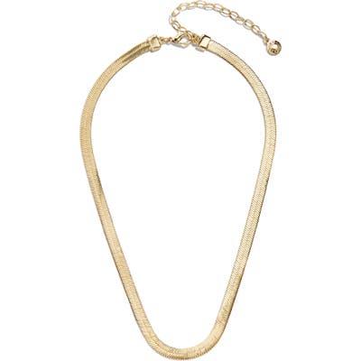 Baublebar Gia Herringbone Chain Collar Necklace