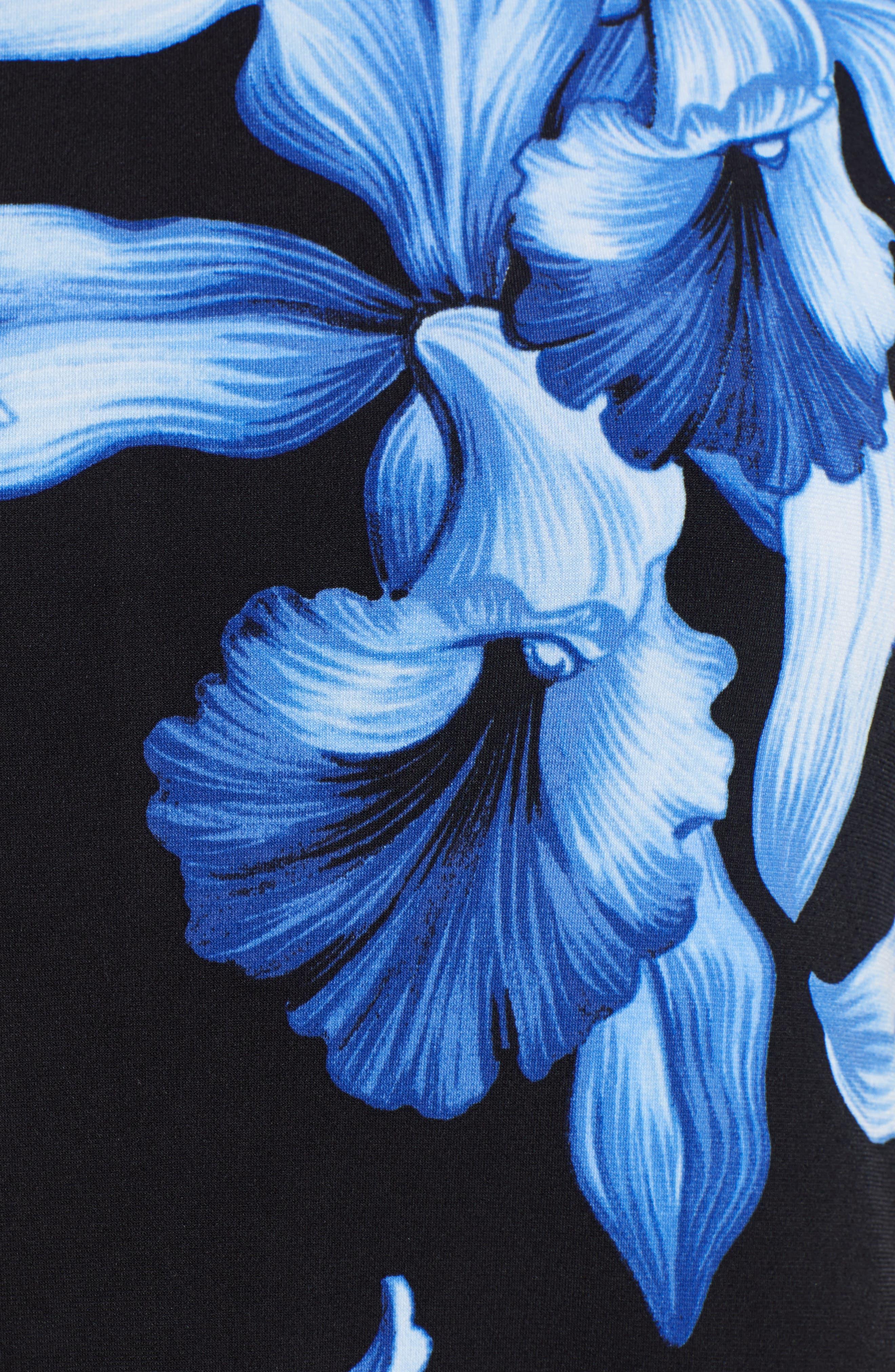 ,                             Orchid Rua Dress,                             Alternate thumbnail 6, color,                             BLACK