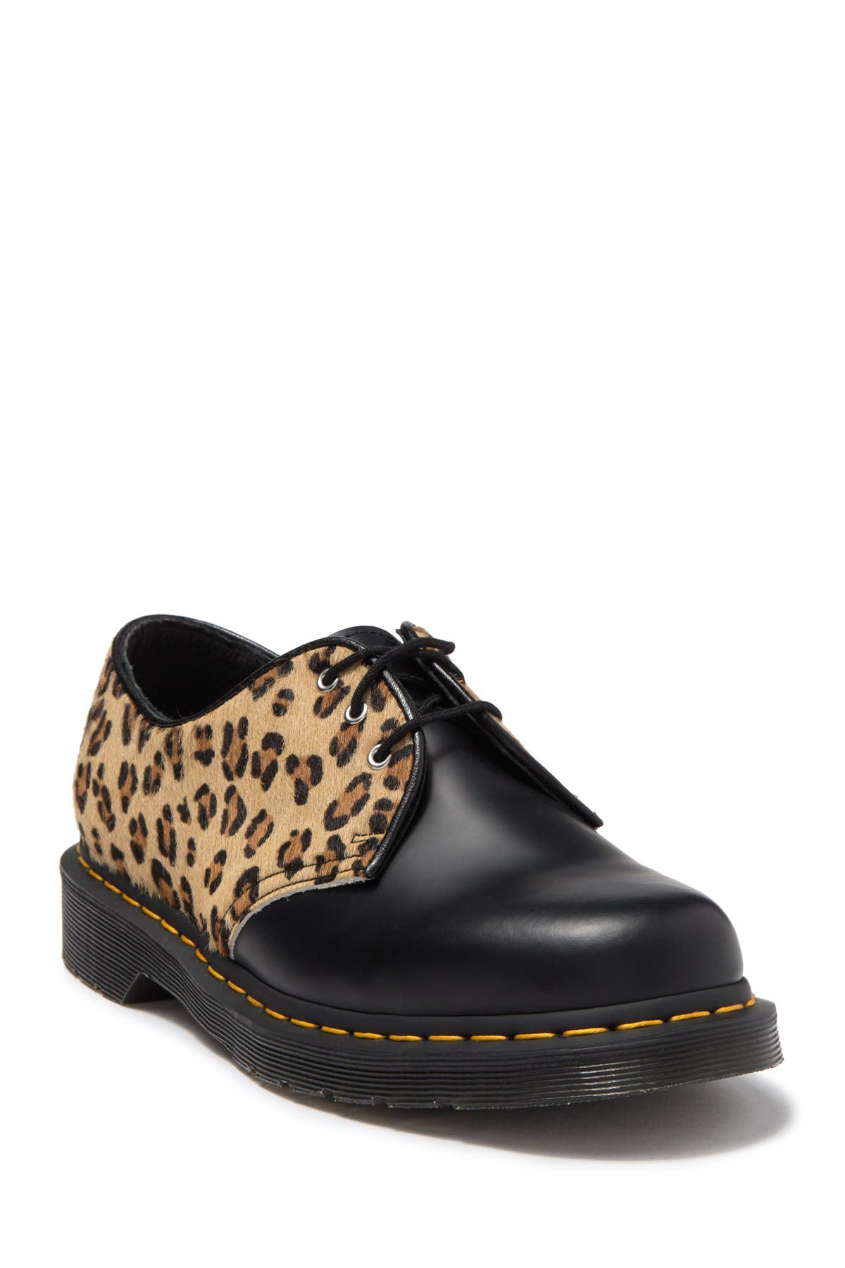 Image of Dr. Martens 1461 Genuine Hair Lace-Up Shoe