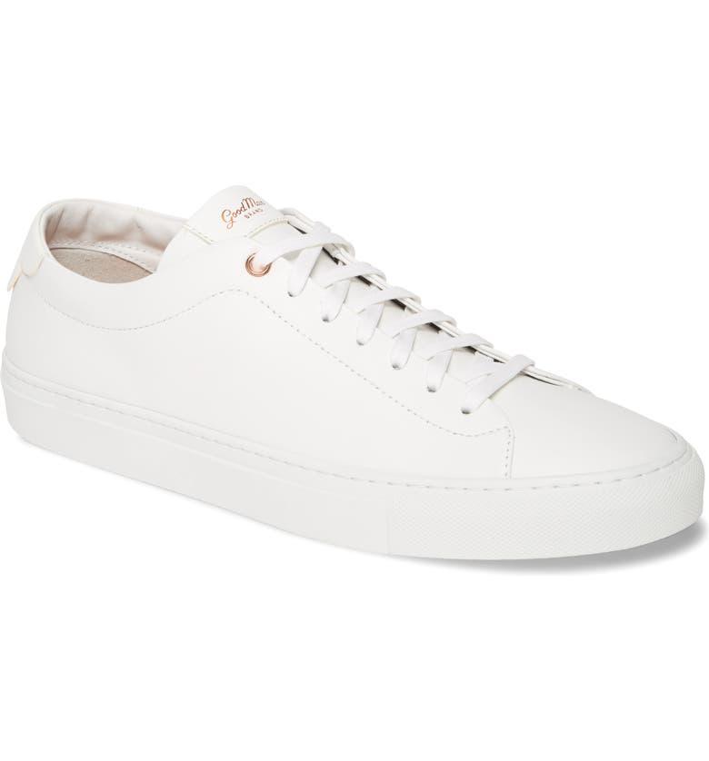 GOOD MAN BRAND Edge Sneaker, Main, color, WHITE