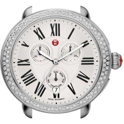 Michele Serein Diamond Gold Plated Watch Case, 40Mm X