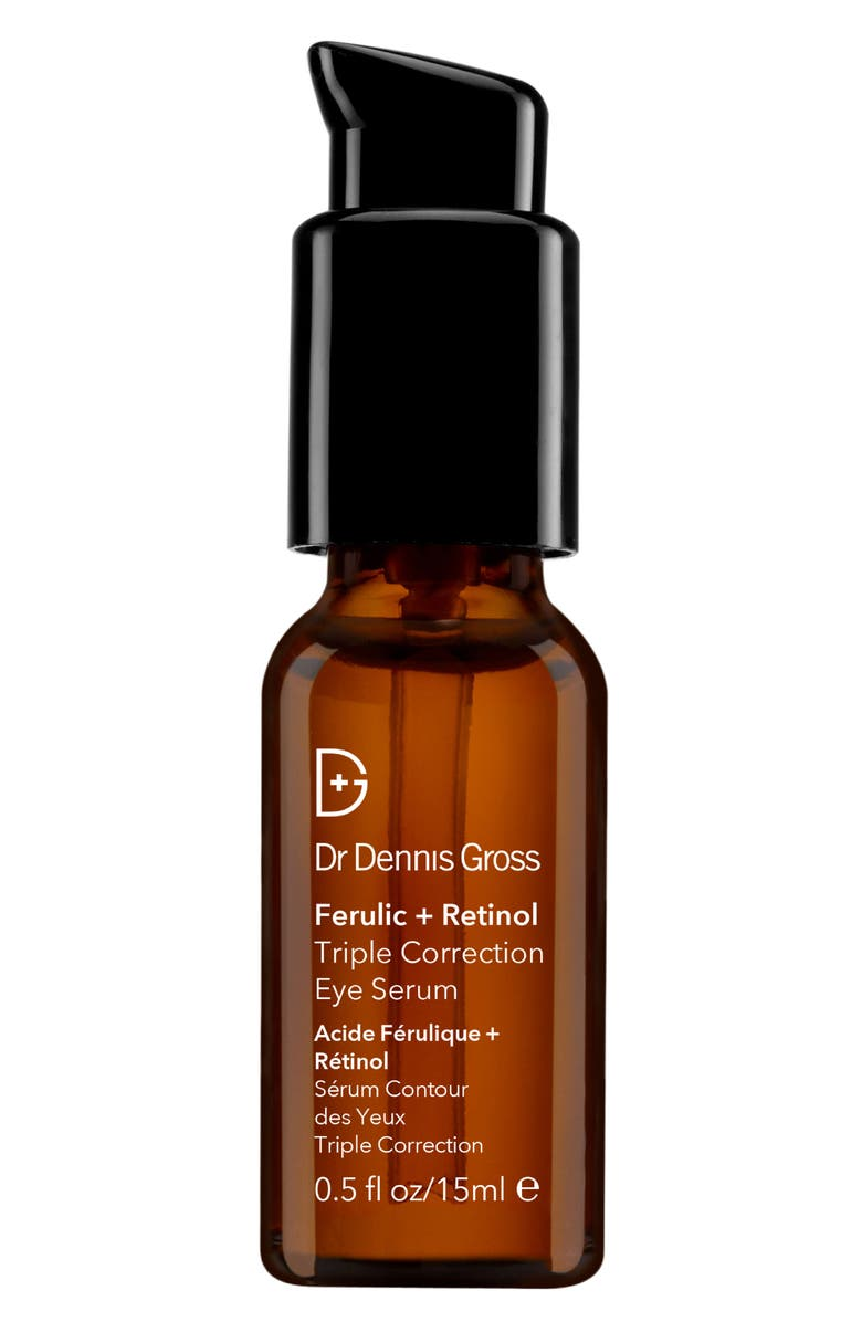 DR. DENNIS GROSS Skincare Ferulic + Retinol Serum Triple Correction Eye Serum, Main, color, NO COLOR
