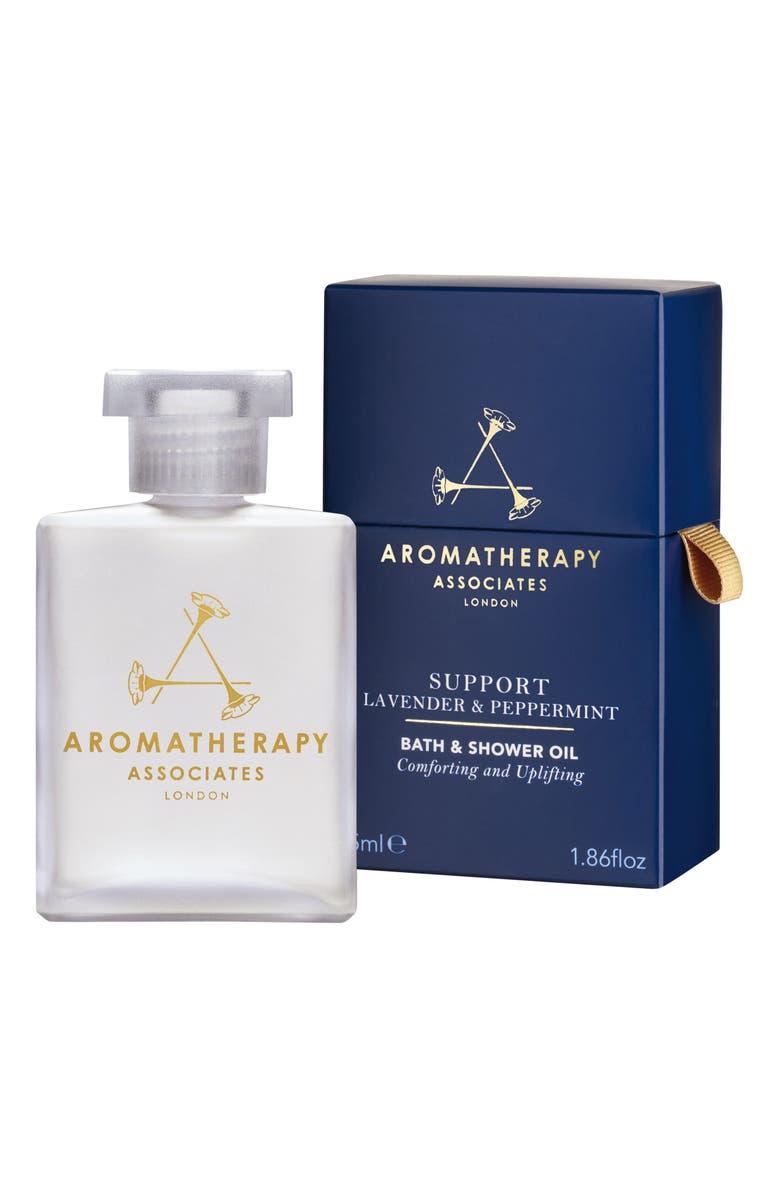 Aromatherapy Associates Support Lavender Peppermint Bath Shower Oil