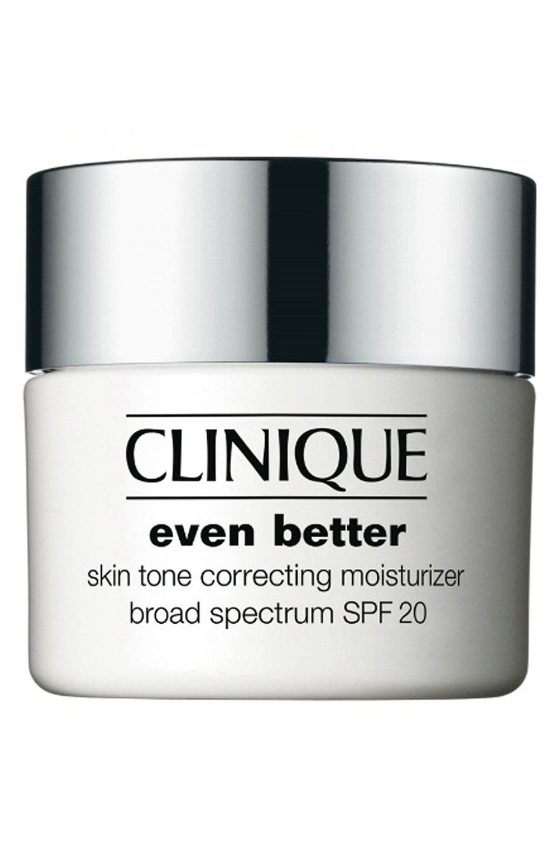 Even Better Skin Tone Correcting Moisturizer Cream SPF 20, Main, color, NO COLOR