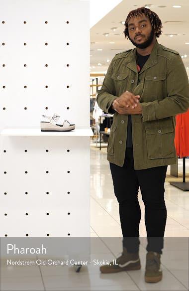 Ivory Platform Wedge Sandal, sales video thumbnail