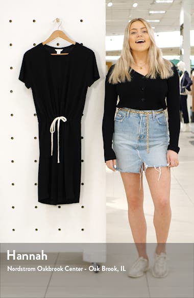 Cinched Waist T-Shirt Dress, sales video thumbnail
