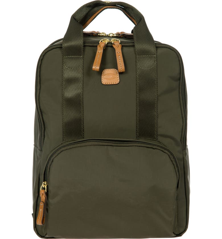 BRIC'S X-Bag Travel Urban Backpack, Main, color, OLIVE