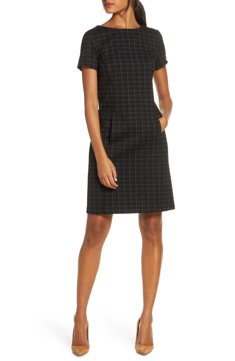 Plaid Shift Dress by Forest Lily